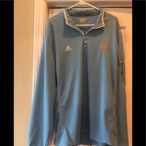 Tennessee Lady Vols Adidas 1/2 zip jacket size XL